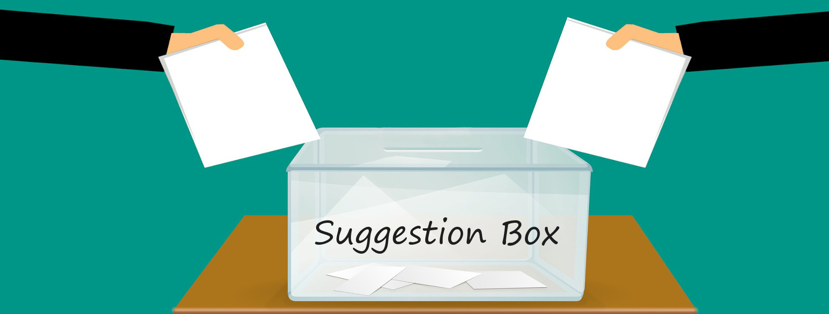 Please provide your feature suggestion in the box below. All suggestions are welcomed!